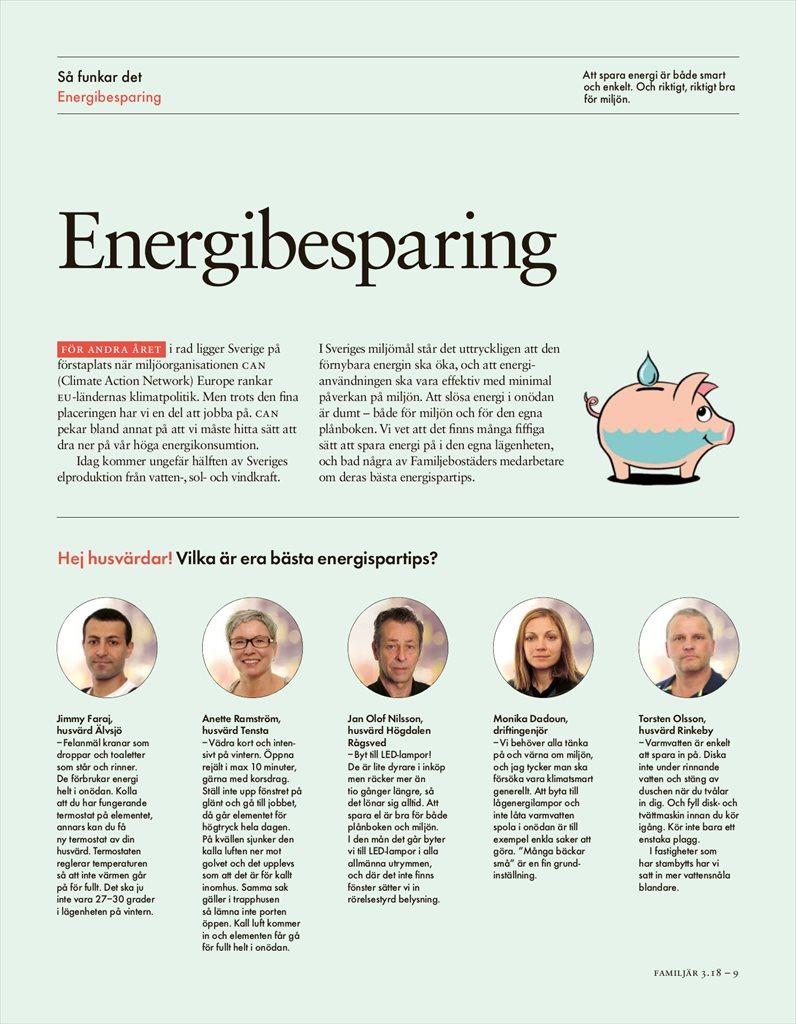 Spara energi lonar sig inte alltid