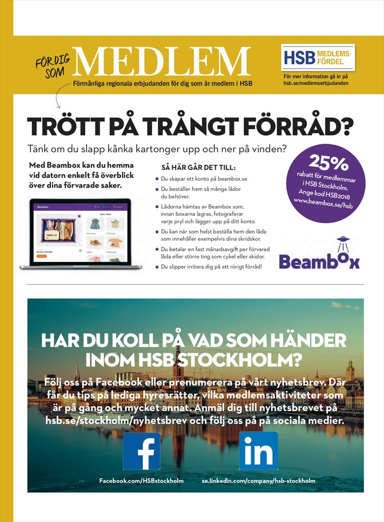 hsb rabatter stockholm
